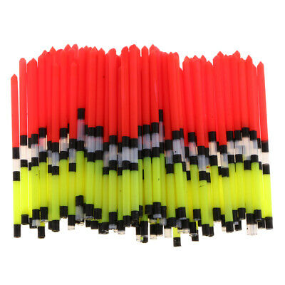 100x Vertical Buoy Fishing Float Floating Tube for Freshwater & Saltwater