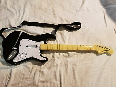 HARMONIX ROCK BAND 2 Fender Stratocaster Wireless Guitar No