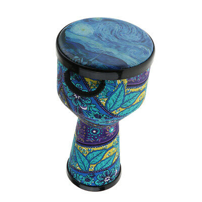 8 Zoll African Dancing Djembe Trommel Percussion Instrument Kinder