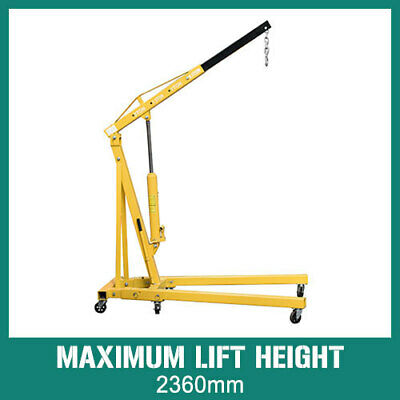 Hydraulic 2 Ton Folding Shop Crane