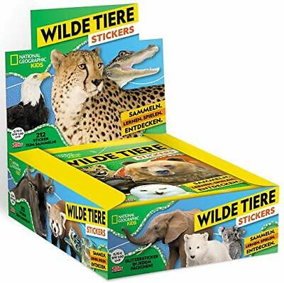 National Geographic Kids / Topps: Wilde Tiere, Display mit 30 Tüten, top !!!