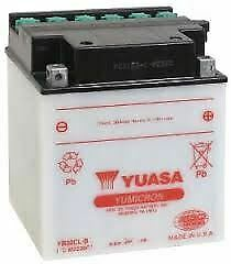 Genuine YUASA YB30CL-B Battery with Acid Pack