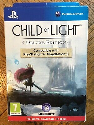 Child of Light Deluxe Edition DLC (open / wear on box) - PS4 / PS3 UK New!