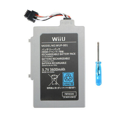Rechargeable 3.7V 3000mAh Li-ion Battery Pack for Nintendo Wii U Gamepad AC1612