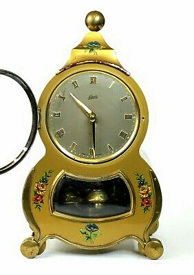 Vtg Schatz & Sohne BAROCK 400 Day Clock Germany Wall Bracket Pendulum w Box