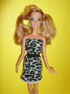 barbie fashionistas summer 2011 snodata poseable doll mattel capelli meches 4e705582423