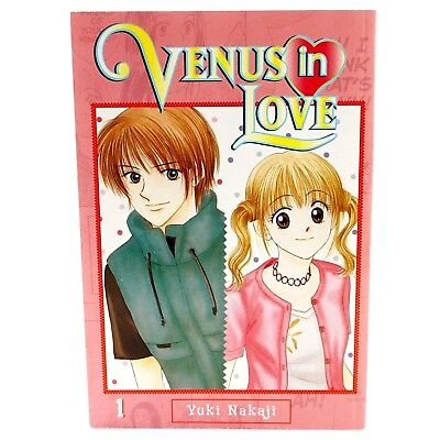 Venus in Love Volume 1 Yuki Nakaji Japanese Shoujo Manga Graphic Novel 2008 CMX