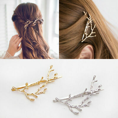 Women Runway Tree Branch Hairpins Hair Fascinator Bobby New Pins Accessories