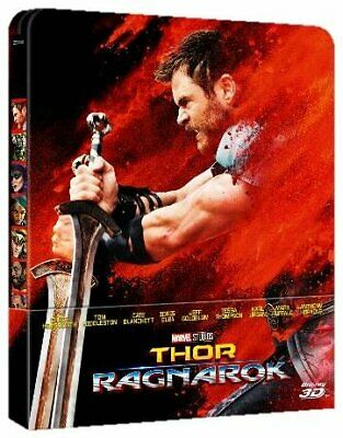 864156 Movie - Thor: Ragnarok 2d+3d (Blu-Ray)