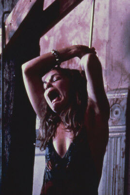 The Texas Chain Saw Massacre Teri Mcminn Screaming Chained To Post L Póster