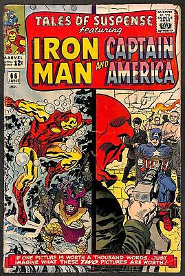 Tales of Suspense #66  First appearance of Iron Man Armor MK IV VG