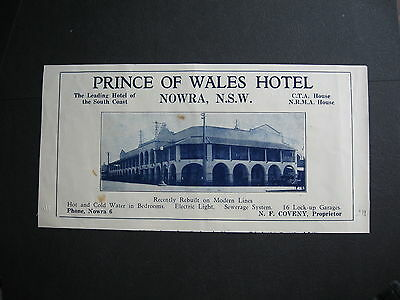 N Coveny Prince Of Wales Hotel  Nowra