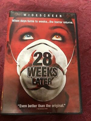 28 Weeks Later (2007 DVD) Robert Carlyle Jeremy Renner Rose Byrne SHIPS NOW!