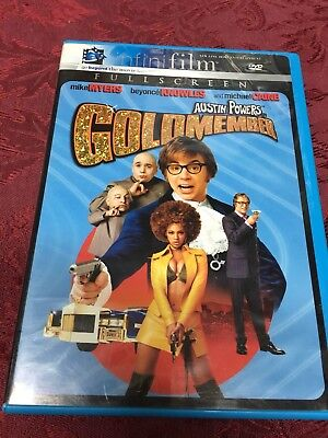 Austin Powers In Goldmember (2002 DVD) Mike Myers Seth Green SHIPS NOW!