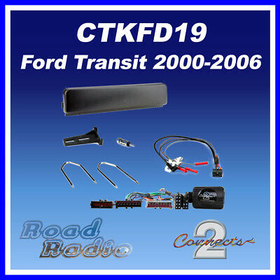 Ford Transit 2000-2006 Complete Car Stereo Installation Kit CTKFD19