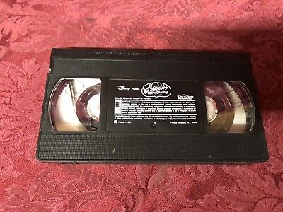 NO BOX! TAPE ONLY! Walt Disney's Aladdin And The King Of Thieves (1996 VHS)
