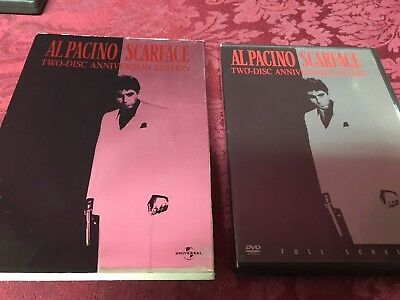 Scarface : Anniversary Edition (1983 2-Disc DVD) Al Pacino SHIPS RIGHT NOW!