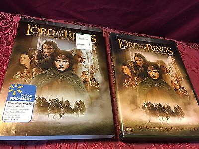The Lord Of The Rings : The Fellowship Of The Ring (2001 DVD) Include Slip Cover