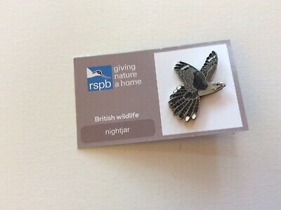 RSPB Pin Badge | Nightjar | GNaH