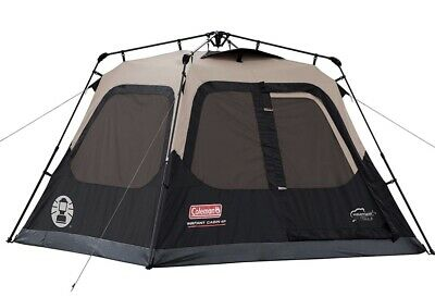 Coleman 4-person Instant Cabin 4person Camping Tent Waterproof Family