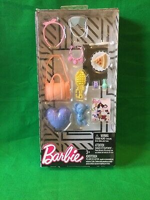 NEW! 2018 BARBIE DOLL FASHION ACCESSORY PACK ~ Poor PacckageNew! ^_^ New!! (ABV)