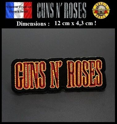 Écusson Brodé Thermocollant NEUF ( Patch Embroidered ) - Guns And Roses (Ref 2)