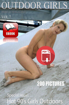 Ebook -PDF- Outdoor Girls Adult Photo Magazine - Issue 7 HI QUALITY  Adult 18+