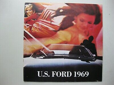 Ford Range USA incl. Mustang large brochure Prospekt Dutch text 24 pages 1969