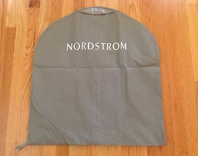 85d78ea69e BRAND NEW NORDSTROM Garment Storage Travel Bag Beige/Grey Front Zip-Up