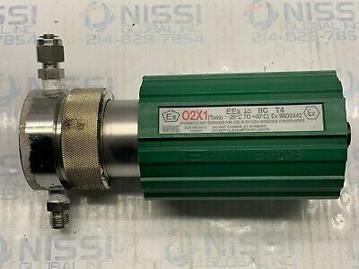 GE Panametrics Highly Reliable Intrinsically safe Ex O2X1 Oxygen Transmitter