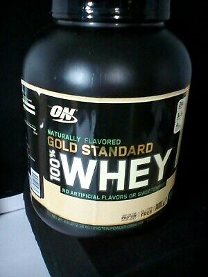 Optimum Nutrition Gold Standard 100% Whey Natural 4.8 Lbs New expires11/20