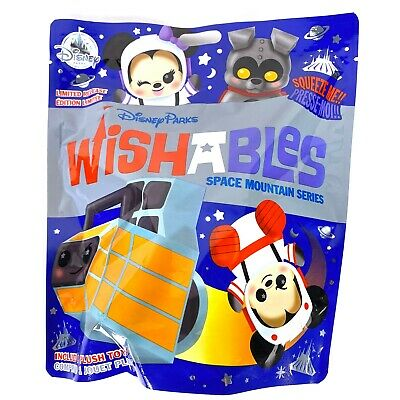 Disney Parks Wishables Mystery Plush Space Mountain Series