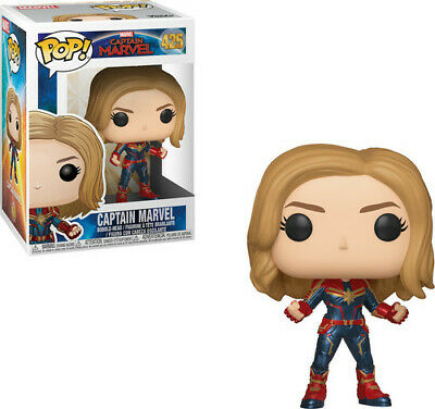 Captain Marvel! - Captain Marvel W/Chase - Funko Pop! Marvel: (2019, Toy NUEVO)