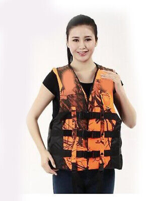 D33 Fishing Water Sports Kayak Canoe Boat Surf Ski Sailing Life Jacket Vest O