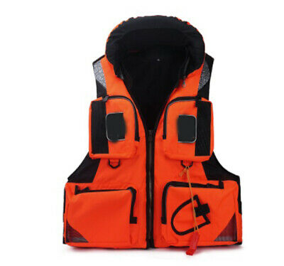 D49 Fishing Water Sports Kayak Canoe Boat Surf Ski Sailing Life Jacket Vest O