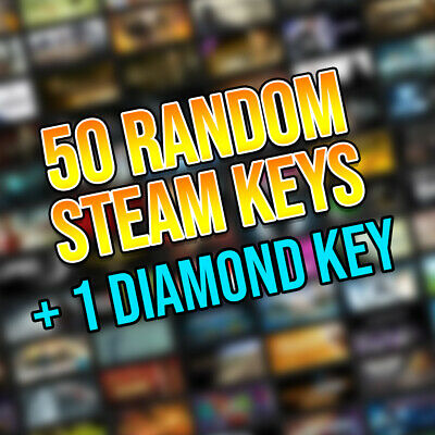 50 Random Steam Keys + 1 DIAMOND Key | Fast Delivery! | Region Free