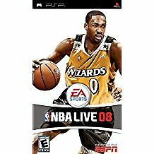 NBA Live 08 - Sony PSP (Complete)