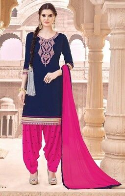 Women's Clothing Indian Pakistani Bollywood Designer Salwar Kameez Shalwar Suit Punjabi Patiyala Clothing, Shoes, Accessories