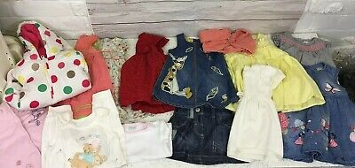 Baby Girl 3-6 Months Clothing Bundle 14 Items Next M&S Etc