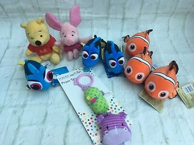 Joblot Nappy Cake Soft Toys - New