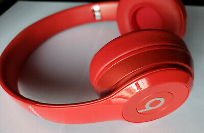 56d1546a4b23 Beats Solo 2 Wireless On-Ear Dre Solo2 Headphones Only - RED - Refurbished