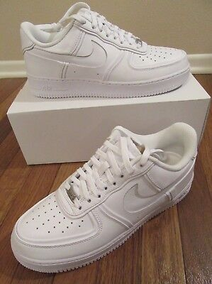 6ace91e4b4a Nike Air Force 1 John Elliott Size 11.5 White White White AO9291 100 New NIB