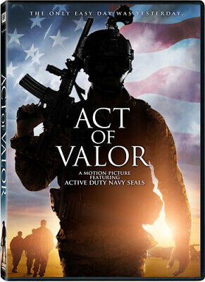 Act of Valor (DVD Used Very Good) WS