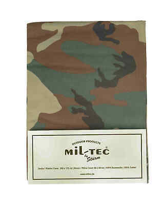 Mil-Tec BETTWÄSCHE 2-TLG.CO WOODLAND One Size