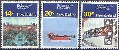 New Zealand 1979 PARLIAMENTARY CONFERENCE (3) Mint Unhinged SG 1207-9