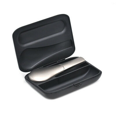 Attractive Spoon Duct Zinc Alloy Metal Tobacco Tool with Gift Box