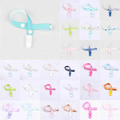 Practical Baby Kids Chain Clip Holders Dummy Pacifier Soother Nipple Leash Strap