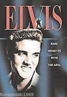 ELVIS RARE MOMENTS with the KING DVD NEW SEALED SS FREE US SHIPPING