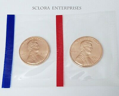 1992 P & D Lincoln Memorial Cent / Penny Set *MINT CELLO*  **FREE SHIPPING**