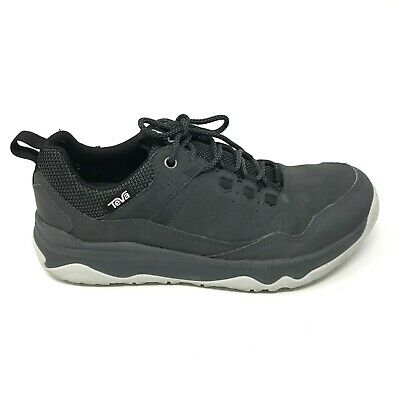 7b92724ab Teva Mens Size 8.5 Gray Ridge Peak Lace Up Casual Outdoor Hiking Trail Shoes